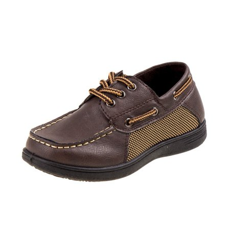 Josmo Boys Boat Shoes With Laces