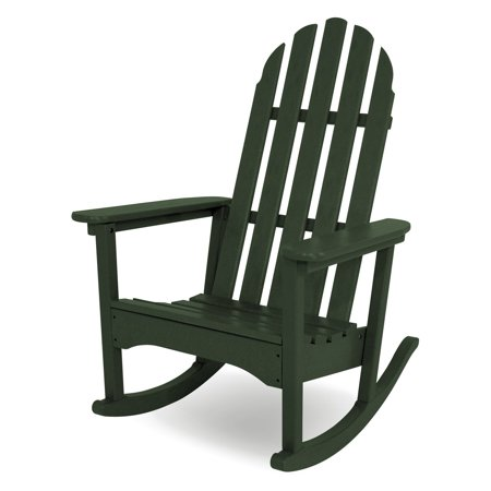 Awe Inspiring Polywood Classic Bimini Recycled Plastic Adirondack Rocking Chair Ocoug Best Dining Table And Chair Ideas Images Ocougorg