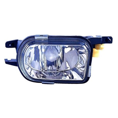 Compatible 2005 - 2007 Mercedes-Benz C230 Fog Light Lamp Assembly Replacement Housing / Lens / Cover - Right (Passenger) Side 203 820 18 56 65 MB2593109 Replacement For Mercedes-Benz C230