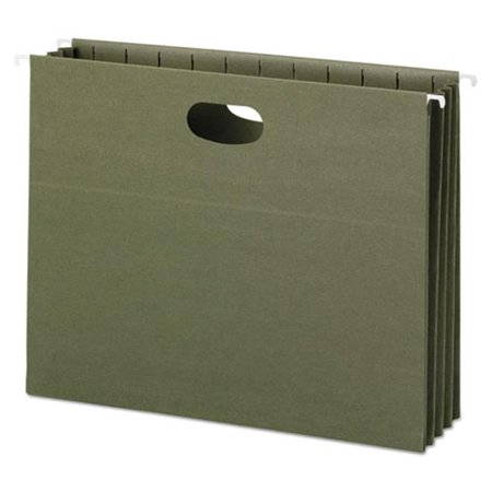 Hanging Recycled Binder (Smead Manufacturing 64226 100 Percent Recycled Hanging Pockets with Full-Height Gusset,)