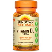 Vitamins & Supplements: Sundown Naturals Vitamin D