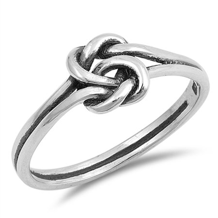 Celtic Knot Criss Cross Woven Thumb Ring New 925 Sterling Silver Band Size 9