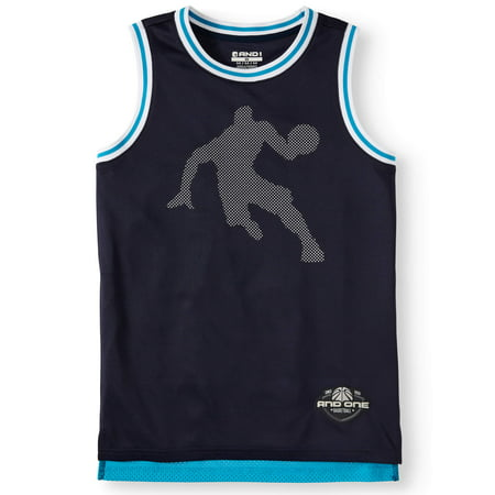 AND1 Polyester Mesh Basketball Jersey (Little Boys & Big (3 Pack Jersey)