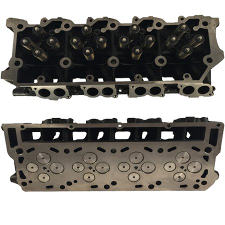 NEW improved 6.0L Ford Powerstroke Diesel 18mm Loaded Cylinder Head Pair 03-06