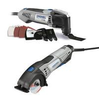 Dremel Multi Max Oscillating Tool Kit & Circular Saw (Certified Refurbished)