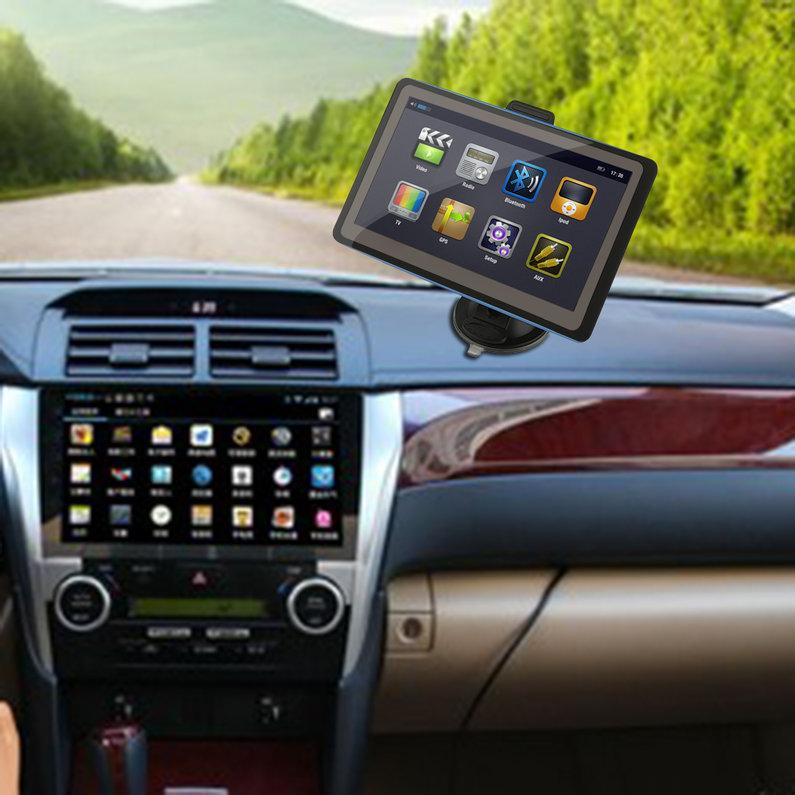 NEW Black TFT LCD Display 7 Inch Car GPS Navigation SAT NAV 8GB