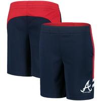 Atlanta Braves Youth MLB Shorts - Navy