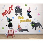 Letter2Word 23 Piece Club Kiddo Dog Park Hanging Art