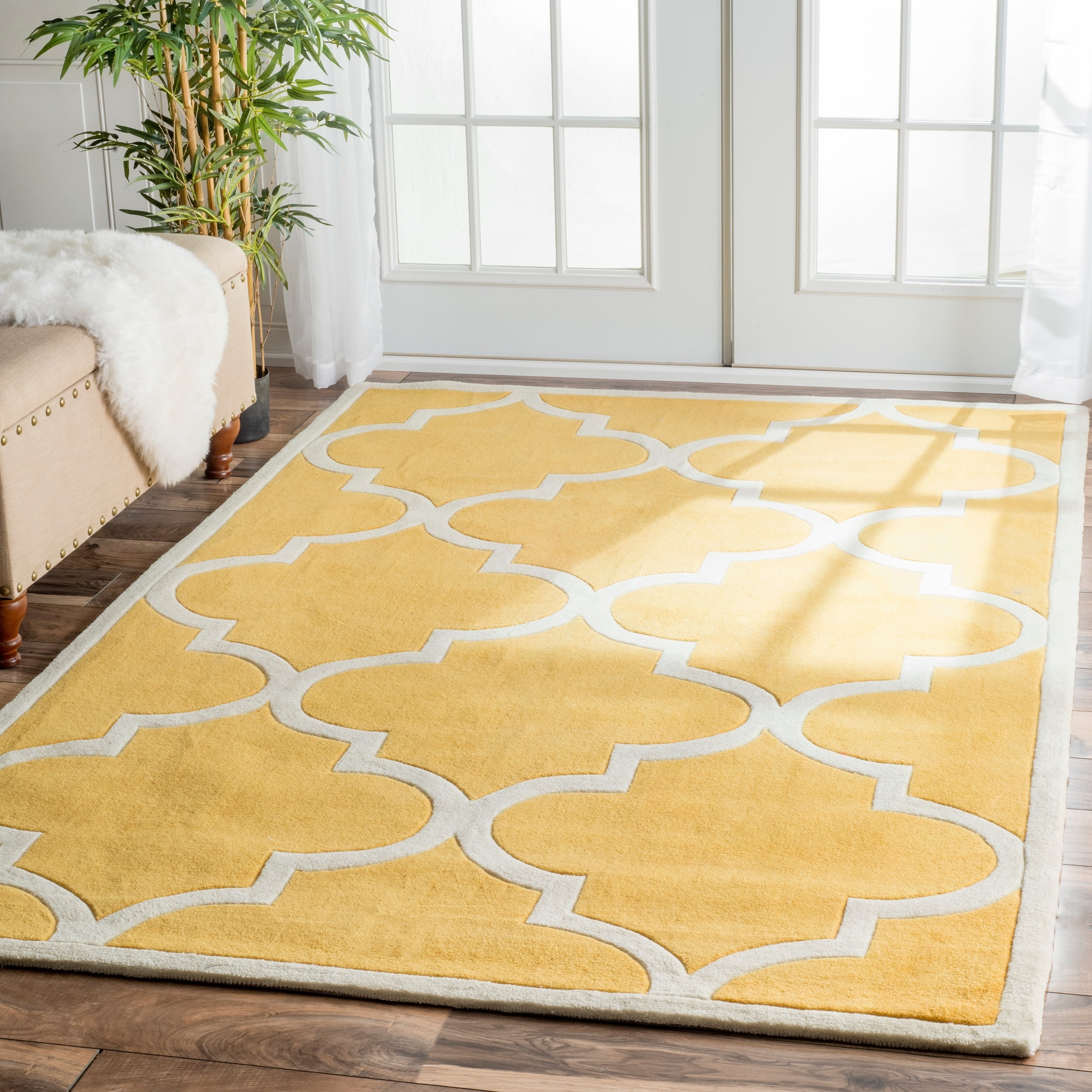handmade product x geometric wool today free rug grey home dyed shipping garden light nuloom dip overstock