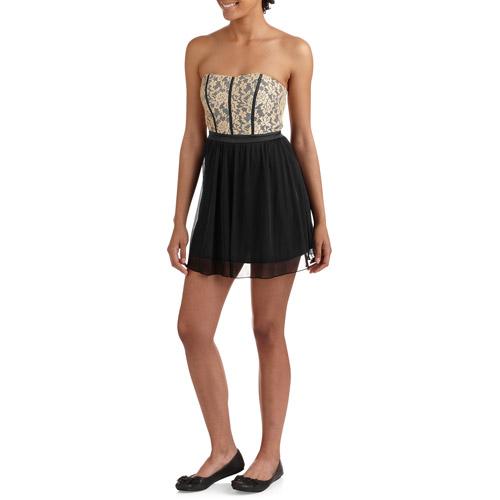 Juniors' Knit Tube Dress