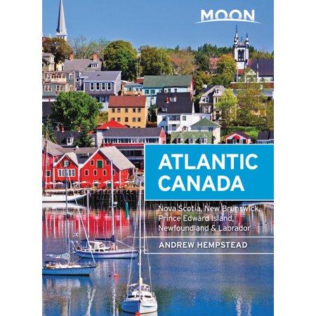 Moon Atlantic Canada : Nova Scotia, New Brunswick, Prince Edward Island, Newfoundland & (Nova Scotia Coat Of Arms Colouring Page)