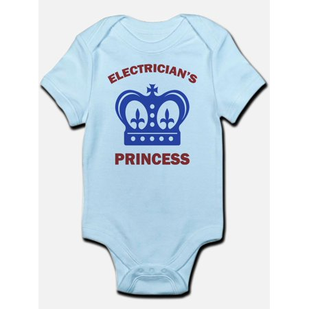 CafePress - Electrician's Princess Infant Bodysuit - Baby Light Bodysuit](Princess Peach Onesie)