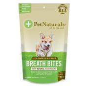 Pet Naturals of Vermont Breath Bites, Fresh Breath Dental Health Bites, 60 Bite-Sized Chews