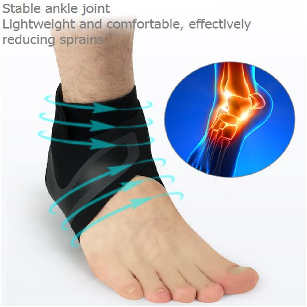 Sports Ankle Compression Sleeve, Outdoor Basketball Hiking Protection Ankle Socks Cover Size:M Specification:right foot - image 5 de 6
