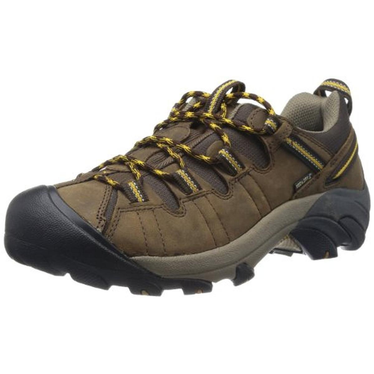 Keen Mens Targhee II Leather Distressed Hiking, Trail Shoes