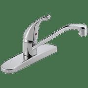 Peerless Single Handle Deck-Mount Kitchen Faucet in Chrome P110LF