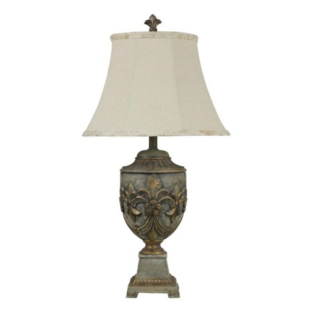 Stylecraft fleur de lis table lamp in versailles finish walmart stylecraft fleur de lis table lamp in versailles finish aloadofball Choice Image