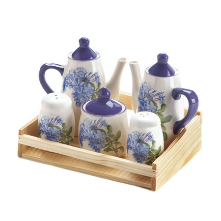 Green Tea Set, Dolomite Ceramic Best Rose Kitchen Little China Tea