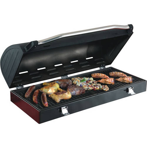 Camp Chef Deluxe Barbeque Box, Hinged Lid, For 2 Burners