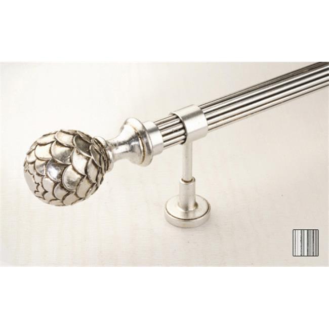 WinarT USA 8. 1085. 30. 32. 400 Palas 1085 Curtain Rod Set - 1. 25 inch - 157 inch