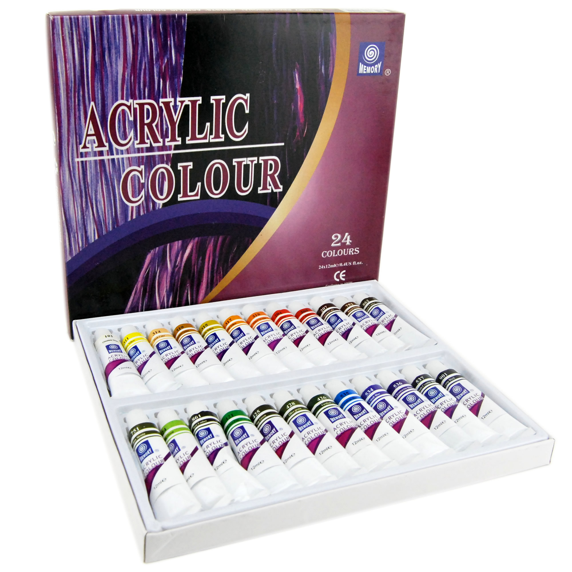 Oil Paint Set,24 Colors Non-toxic Artist Oil Paints Professional Acrylic Paint