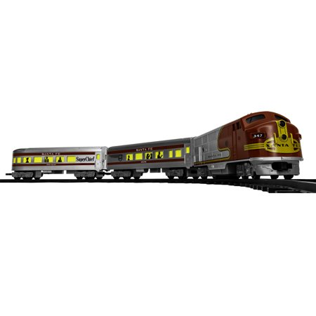 Lionel Santa Fe Diesel Battery-powered Model Train Set Ready to Play with Remote
