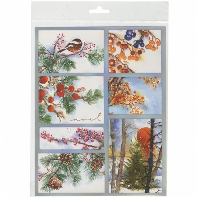 Penny Black PB10-228 Sticker Sheet - Woodland Splendor