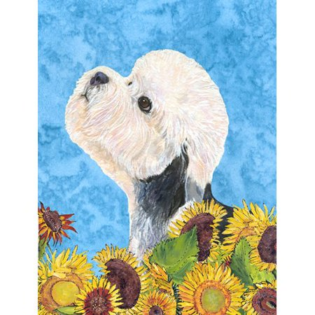 Caroline's Treasures Dandie Dinmont Terrier 2-Sided Garden Flag