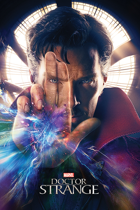"Doctor Strange Marvel Movie Poster   Print (Teaser Dr. Strange   Hand) (Size: 24"" x 36"") by"