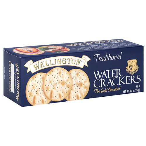 Wellington Traditional Water Crackers, 4.4 oz, (Pack of 12)