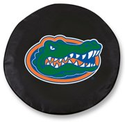 NCAA Tire Cover by Holland Bar Stool - Florida Gators, Black - 27 x L x 8 D Inches