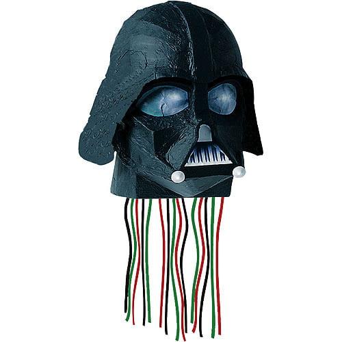 Hallmark 28010 Star Wars 3D Helmet Shaped Pull String Pinata - paper