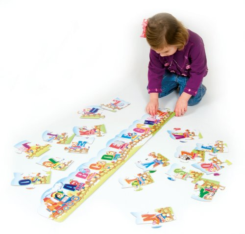 Chenillekraft Floor Puzzle - Theme/subject: Learning - Skill Learning: Alphabet, Alphabet Puzzle, Letter Recognition, Spelling - 27 Pieces (95173)