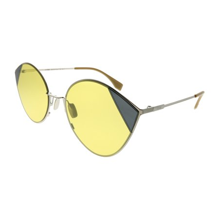 Fendi Cut-Eye FF 0341 B1Z HO Women Cat-Eye Sunglasses