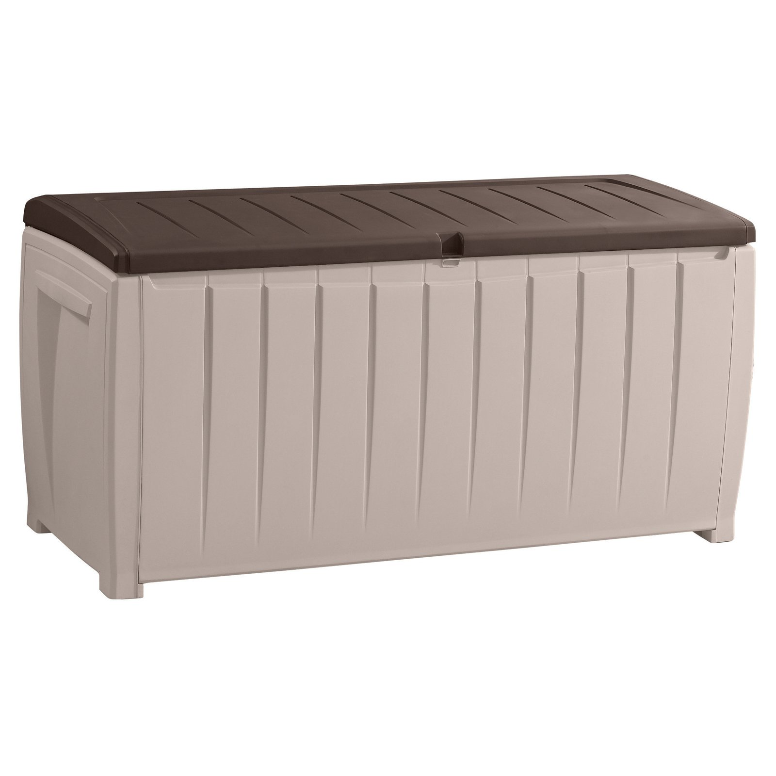 Keter Westwood Plastic Deck Storage Container Box Outdoor Patio Garden Furniture