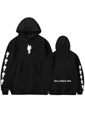77ba77b3507b Product Image Fancyleo Women's Novelty Billie Eilish Hoodie Fan Support Hip  Hop Pullover Sweatshirt
