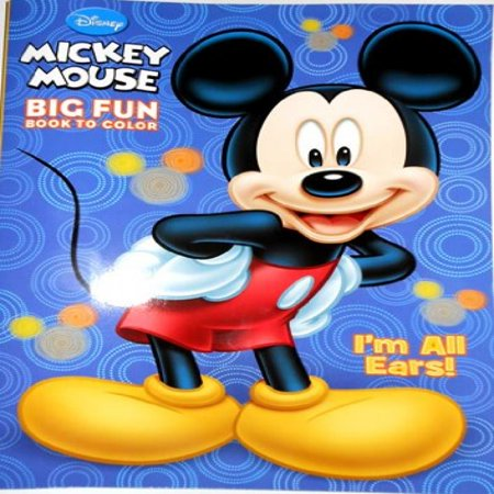 Disney Mickey Mouse Coloring Book - \