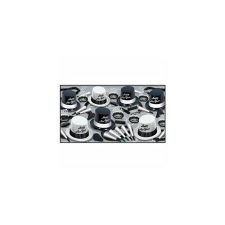 Beistle 88592-50 Black and White Legacy Party Favors, 1 Assortment Per Package (Black Assortment)