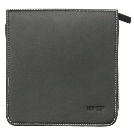 Hipce CDHW-24 BK Portable CD & DVD Wallet, Black - 1.8 x 6.1 x 6.4 in. - 24