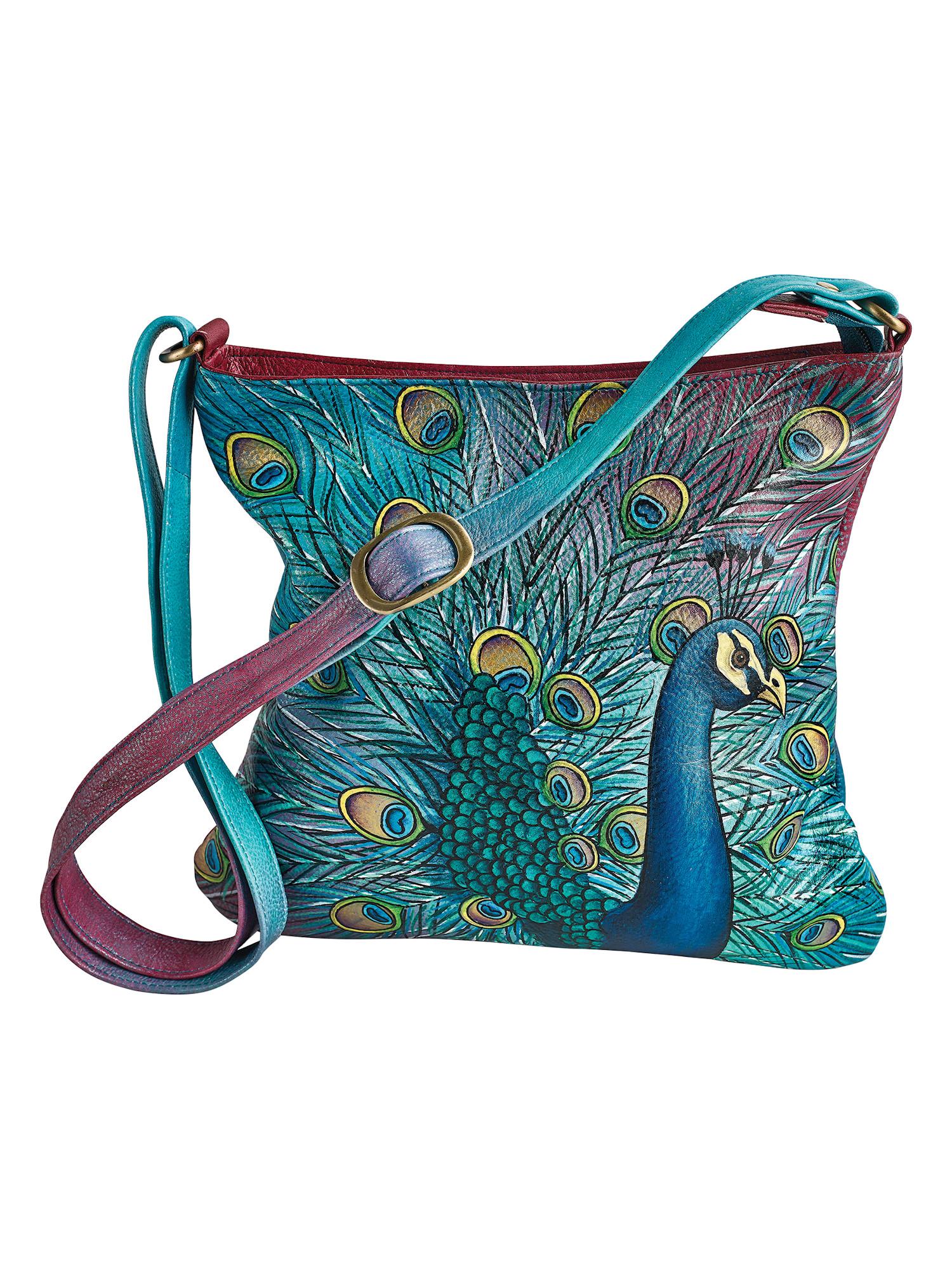 Karen Diane Fish Handpainted Fashion Tote