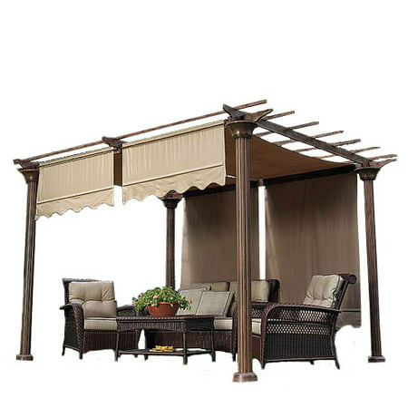 Garden Winds Universal Designer Replacement Pergola Shade Canopy II -
