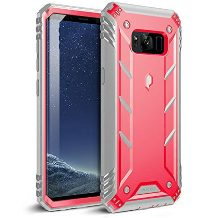 Poetic Revolution Heavy Duty Protection Hybrid Case WITHOUT Built-in Screen Protector for Samsung Galaxy S8 Plus