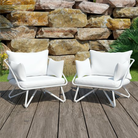 Novogratz Poolside Gossip Collection, Teddi Outdoor Lounge Chairs, 2-piece, Multiple Colors ()