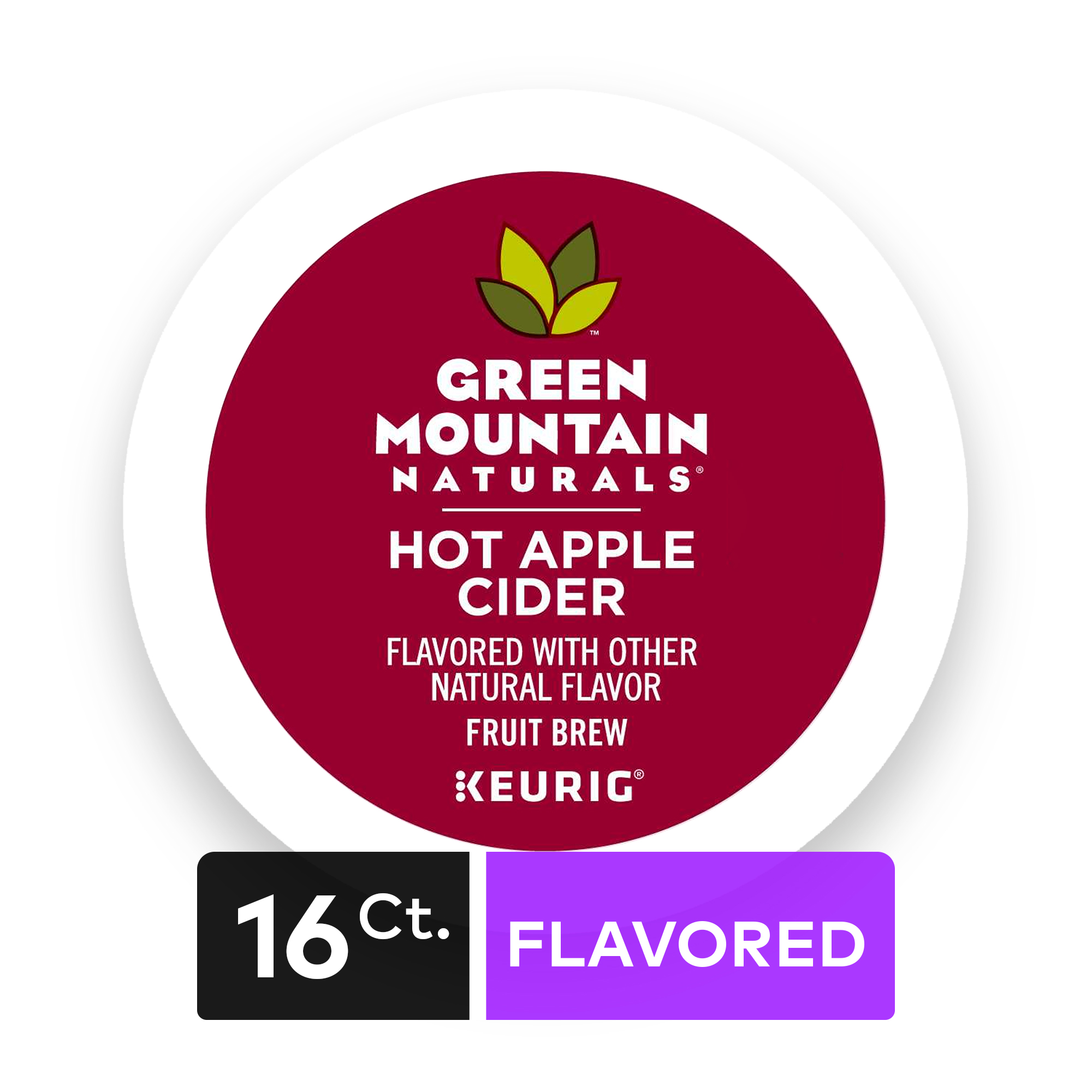 Green Mountain Hot Apple Cider, Keurig Single-Serve K-Cup Pods, 16 Count