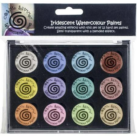 Pastel Color Palette (Cosmic Shimmer Iridescent Watercolor Palette Set 8-Perfect)