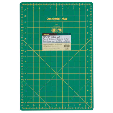 Omnigrid Mat with Grid: 12 x 18 inches