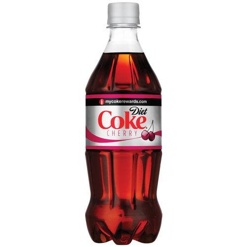 Diet Coke Cherry Flavor Soda, 20 Fl. Oz.