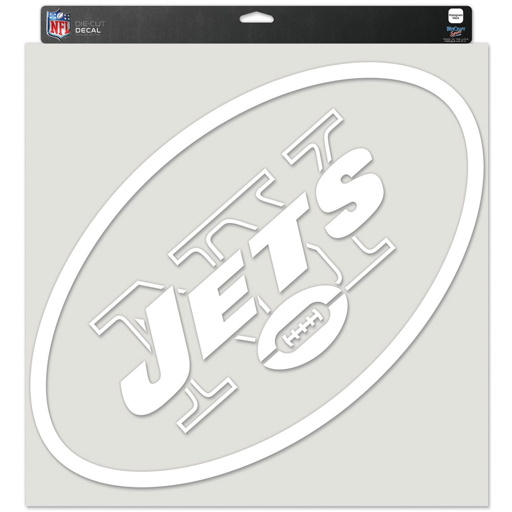 """New York Jets WinCraft 17"""" x 17"""" Perfect Cut Decal - No Size"""