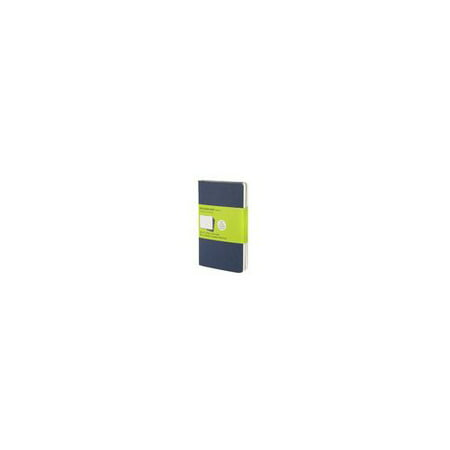 Chronicle   Hachette Book 9788862931007 Moleskine Plain Cahier Indigo Blue Pocket 3 5 X 5 5 3Pk