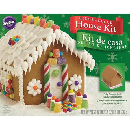 Baking Gingerbread House (Wilton Wilton  Gingerbread House Kit, 25.7 oz )